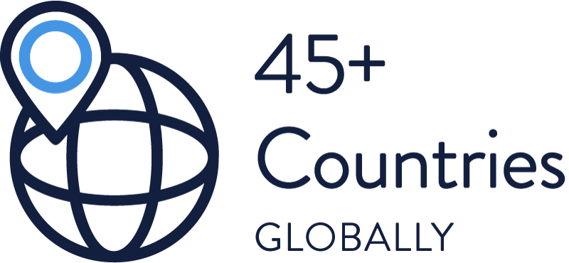 45+ Countries Globally