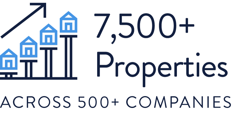 7500+ Properties across 500+ Companies